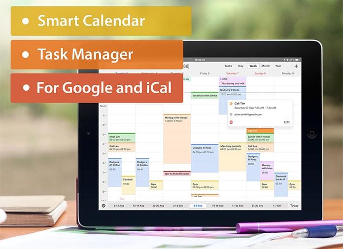 best calendar apps for ipad