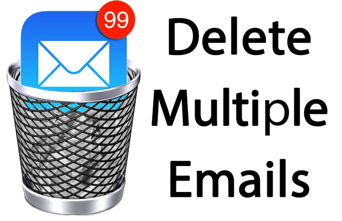 delete multiple emails on iphone