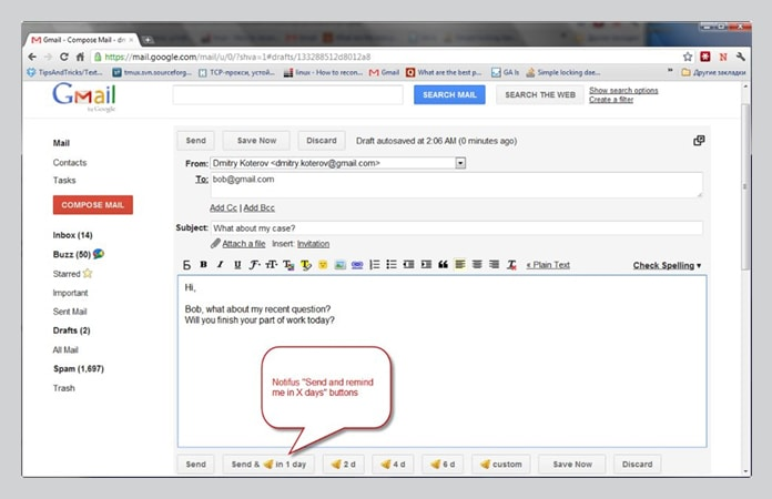 Chrome Extension to Improve Gmail