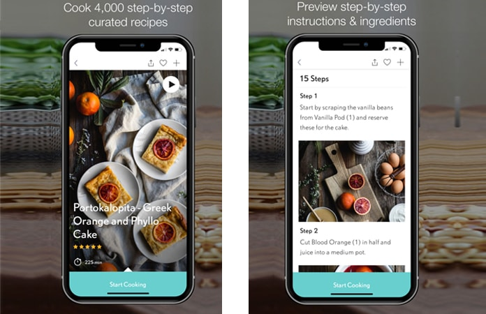 recipe app for iphone