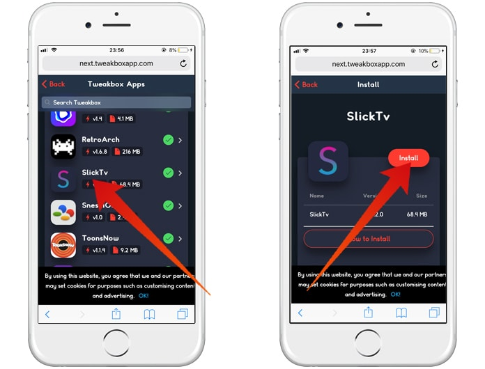 download slick tv app
