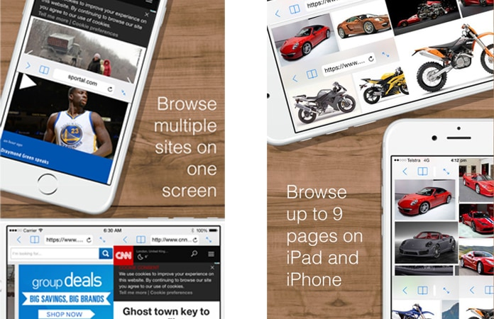 download split view iphone app