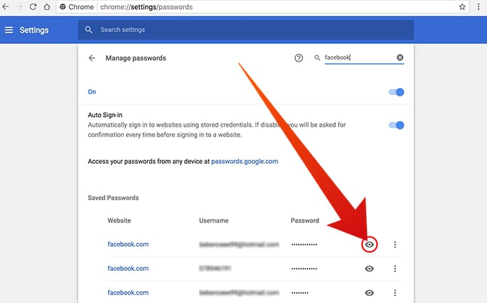How To View Saved Passwords In Chrome On All Devices
