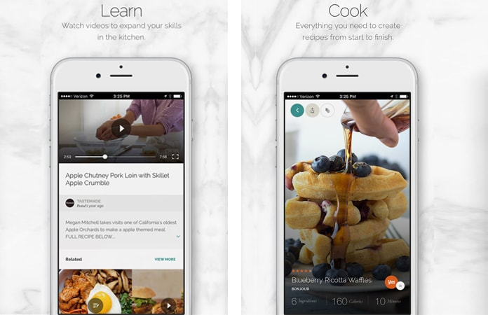 food recipe apps for ios