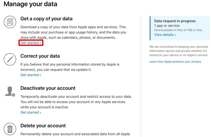 download apple data copy