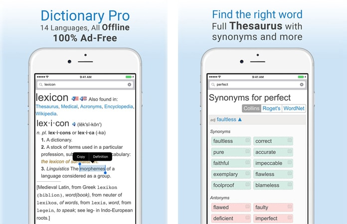 best dictionary app for iphone