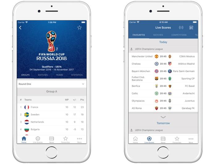 best fifa apps 2018
