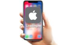 iphone app stuck on loading