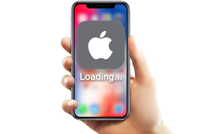 iphone app stuck on loading