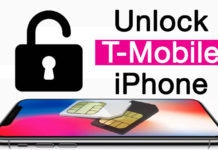 unlock t-mobile iphone x