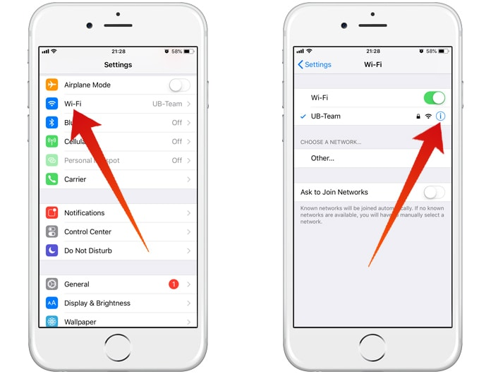configure cloudflare dns on iphone