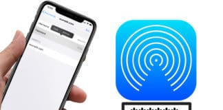 share passwords with airdrop