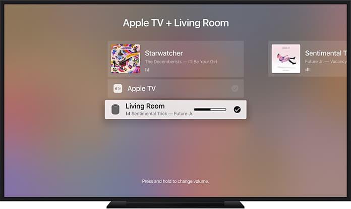 use airplay 2 on apple tv