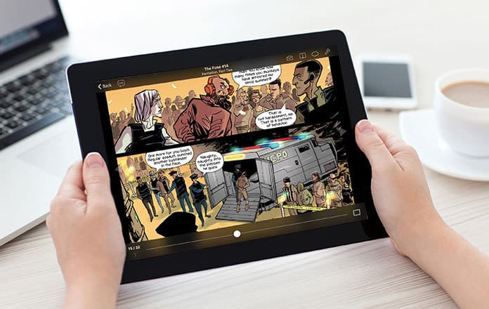 best comic reader android