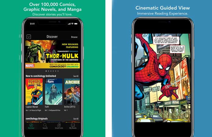 best comic book reader app