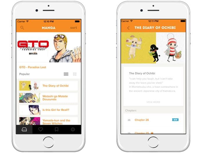 comic book reader app