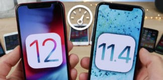 ios 12 vs ios 11 speed
