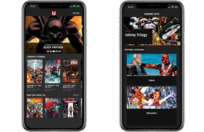 mobile comic reader for iphone