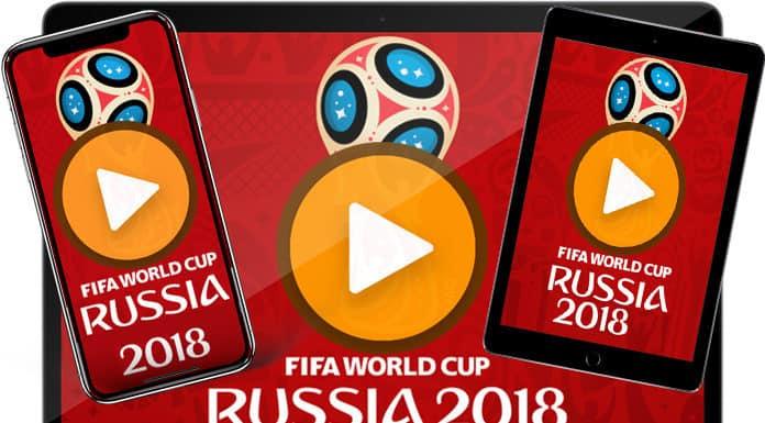 Live Stream FIFA World Cup 2018