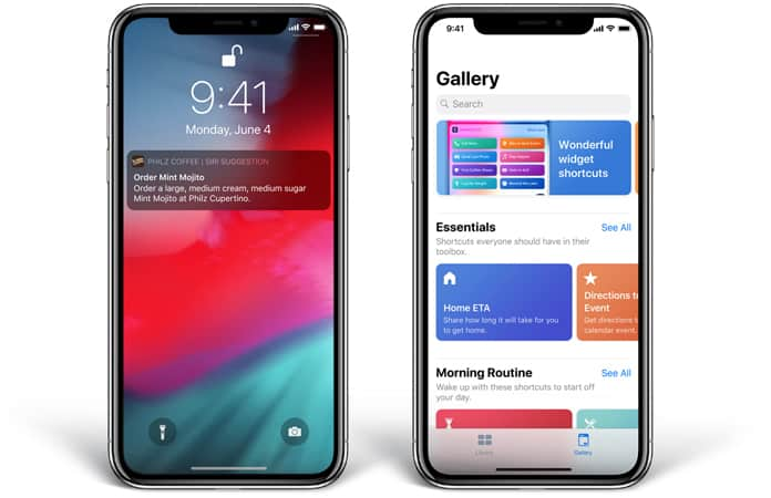 siri improvements in ios 12