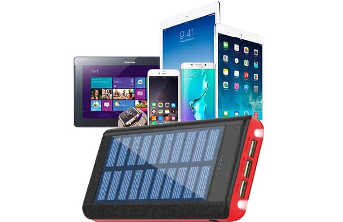solar power bank for ipad