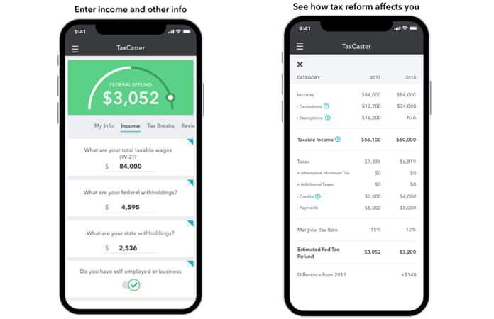 tax calculator app for iphone