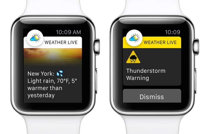 best weather app for apple watch