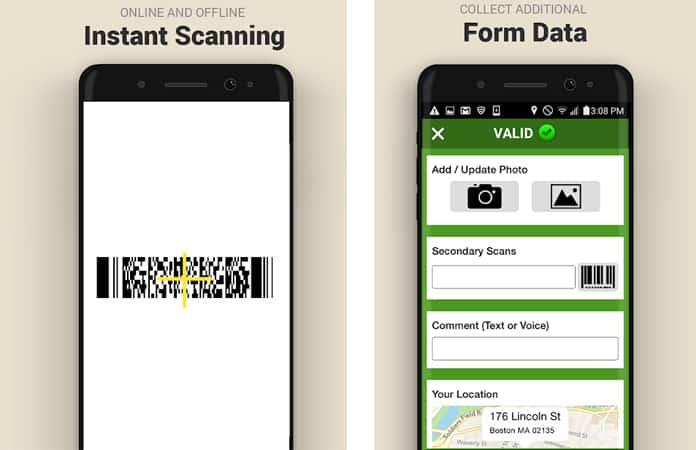 iphone barcode scanner app