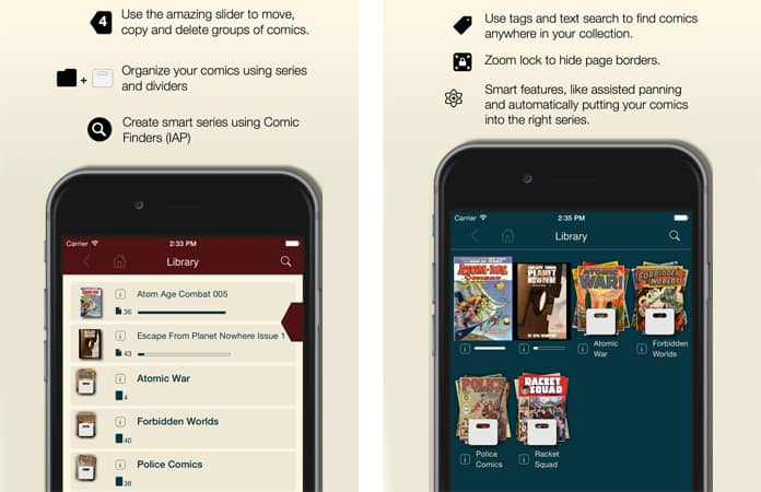 android comic reader app