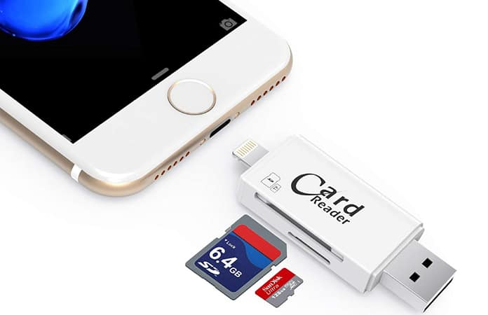 sd card adapter for iphone