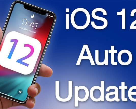 activate ios 12 automatic updates