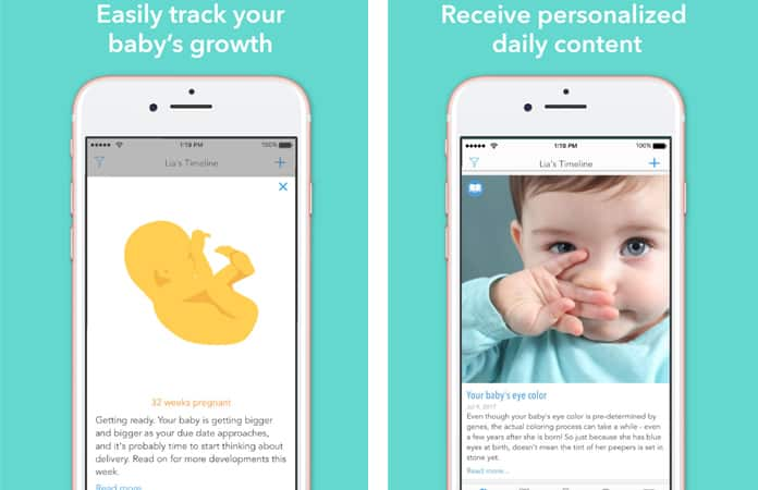 iphone pregnancy tracker app