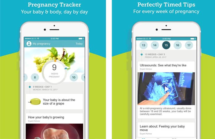 download pregnancy apps for iphone