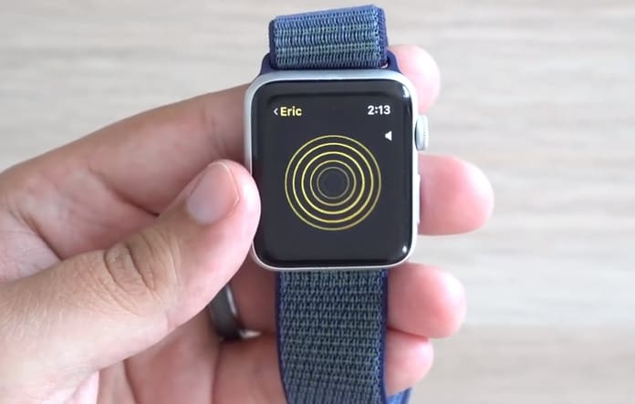 walkie talkie for apple watch