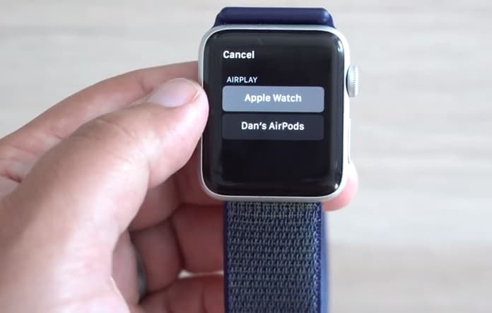 apple watch walkie talkie app