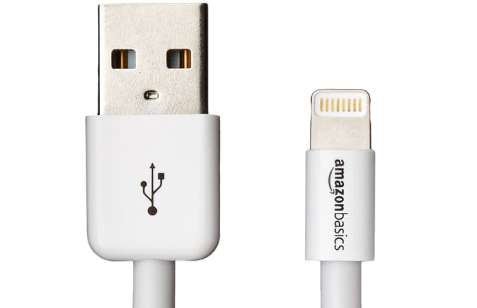lightning charger cable for iphone