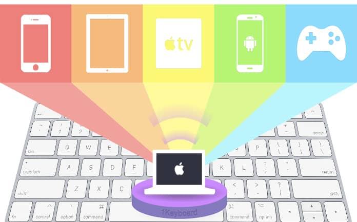 use mac keyboard on iphone