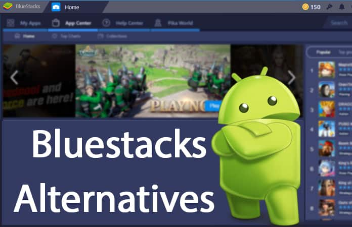 best bluestacks alternatives