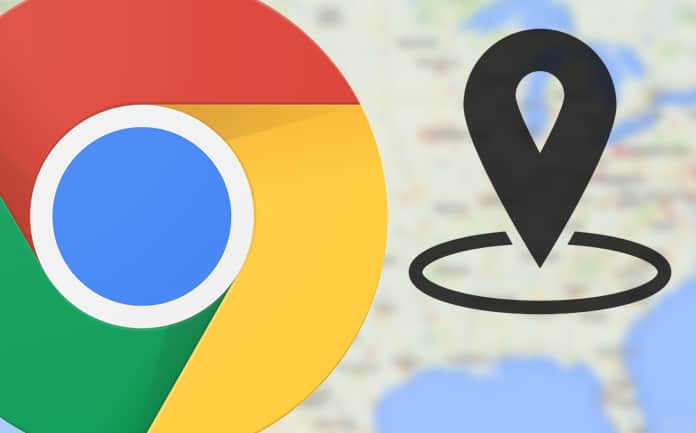 change geolocation in chrome