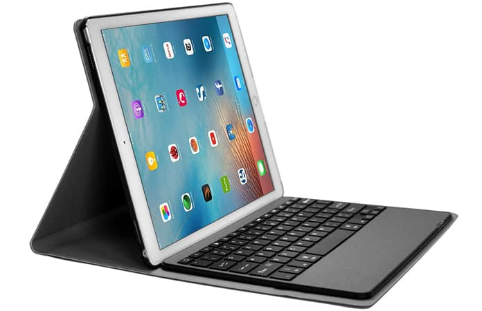 ipad pro keyboard case with pencil holder