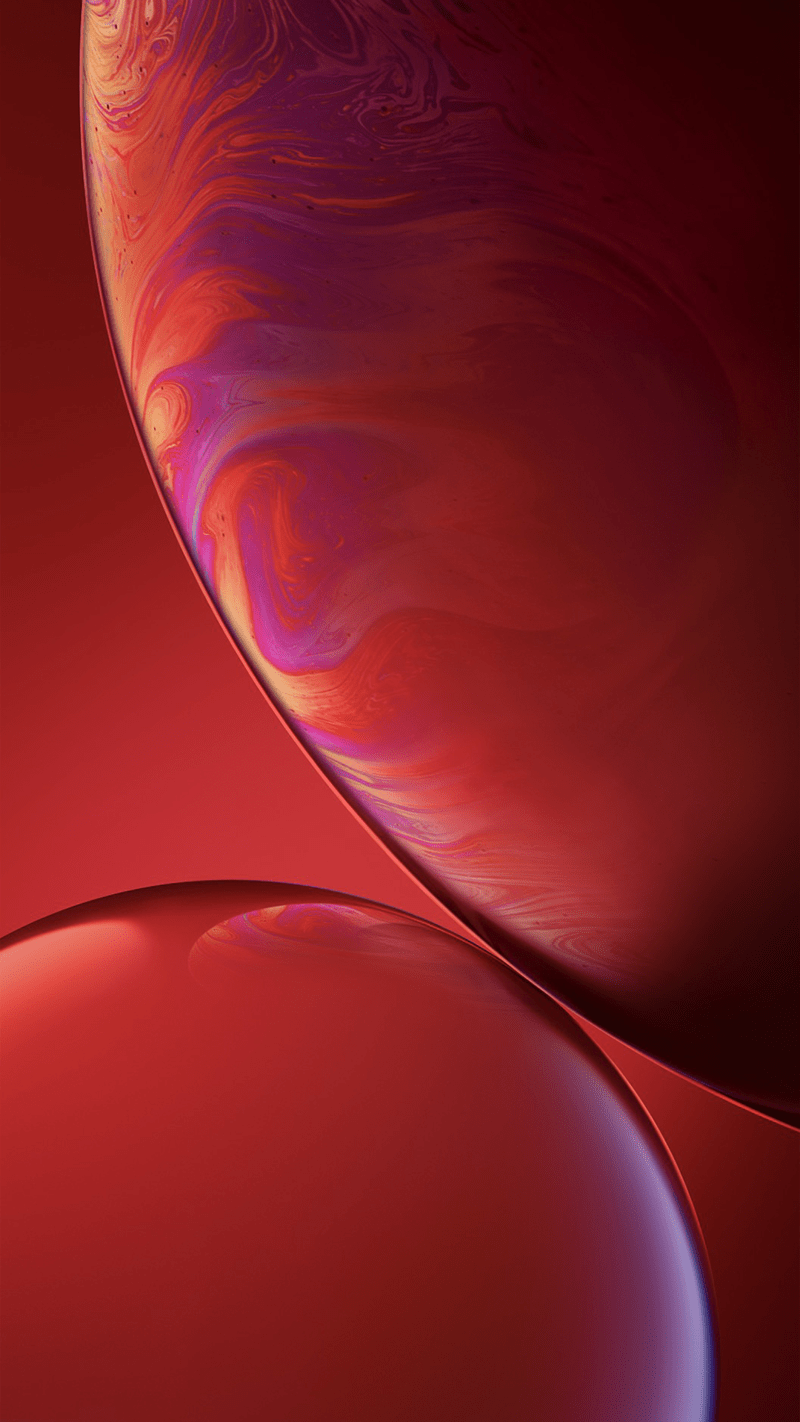iphone xr ios 12 wallpaper