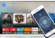 control android tv from iphone