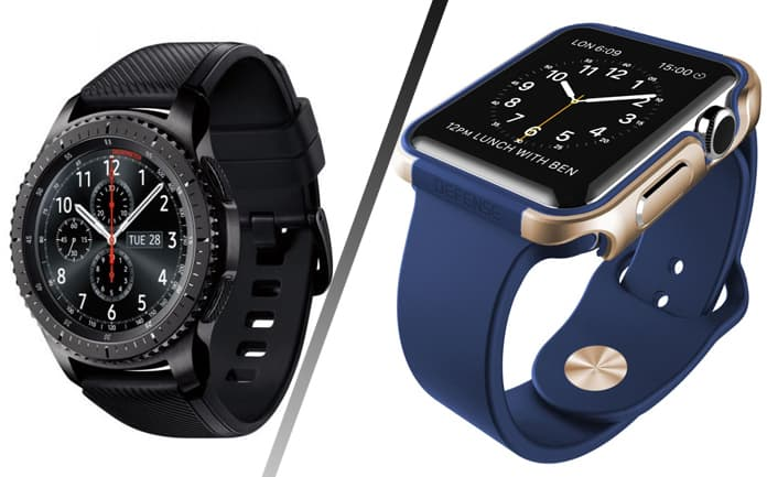 samsung watch vs apple watch 3