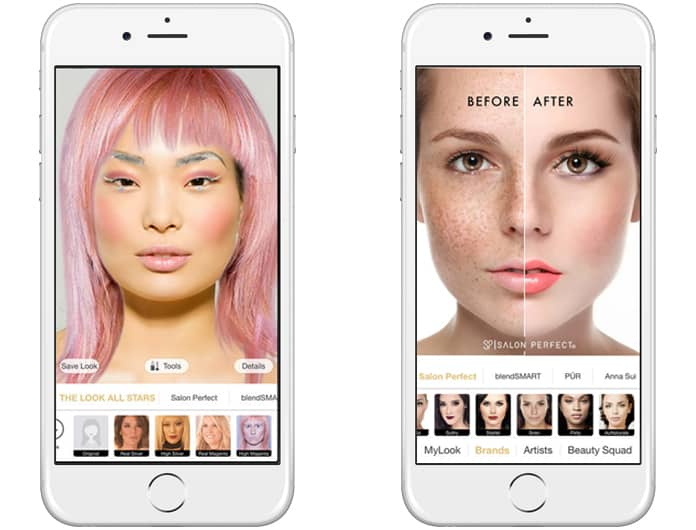 free makeup apps for iphone