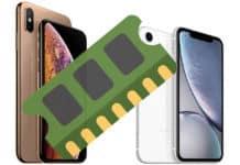 iphone xs ram size