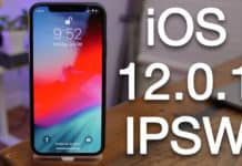 download ios 12.0.1 ipsw