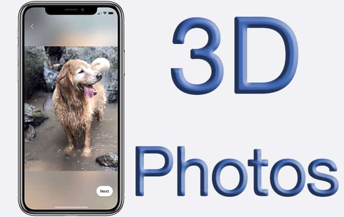 enable 3d photos on facebook