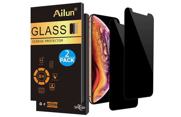 iphone xs glass screen protector