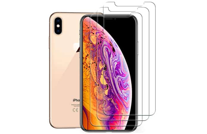 iphone xs screen protector