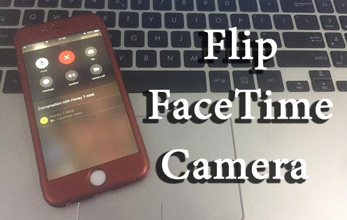 flip facetime camera ios 12